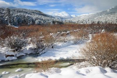 Rocky Mountain National Park photography spots - HWY 7 - Wild Basin Edge