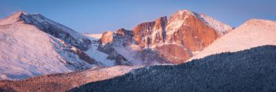 photography locations in Rocky Mountain National Park - HWY 7 - Longs Peak from Hwy 7