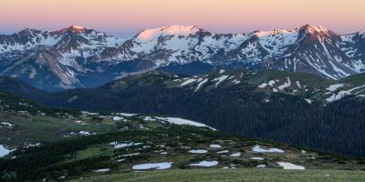 photography spots in Rocky Mountain National Park - TR - Gorge Range Overlook