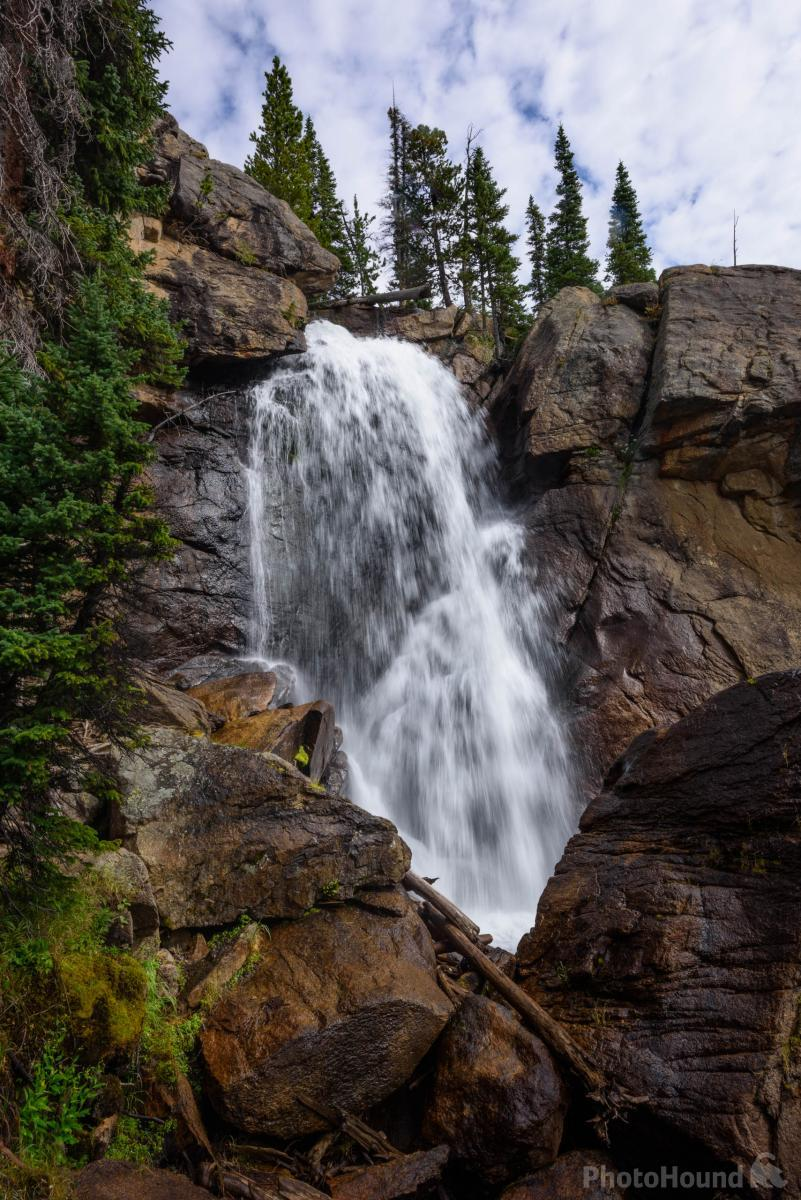 Ouzel Falls from above