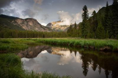 photo locations in Rocky Mountain National Park - WR - East Meadow