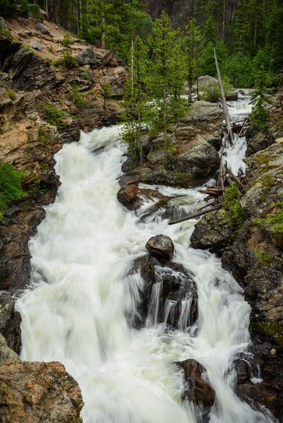 photo spots in Rocky Mountain National Park - WR - Adams Falls