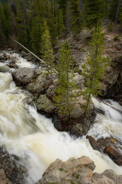 images of Rocky Mountain NP - WR - Adams Falls