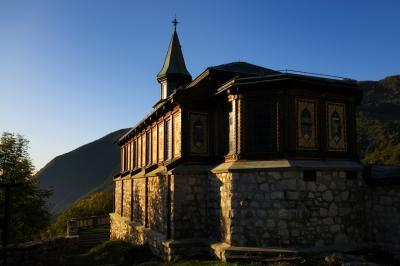 pictures of Triglav National Park - Javorca Church