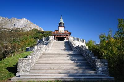 Triglav National Park photo spots - Javorca Church