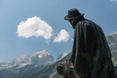 pictures of Triglav National Park - Julius Kugy Monument