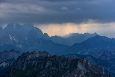 photography locations in Triglav National Park - Mangart Saddle Ridge