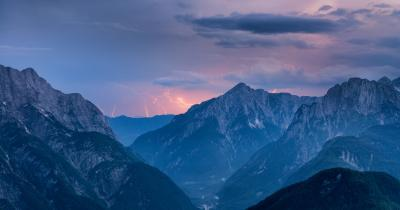 photos of Triglav National Park - Mangart Saddle