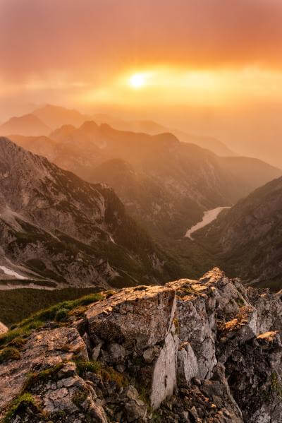 pictures of Triglav National Park - Mangart Saddle Ridge