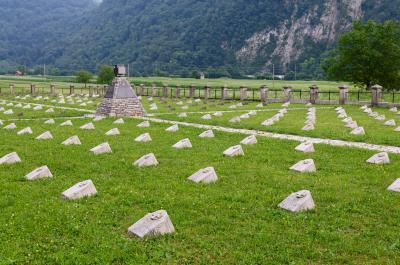 pictures of Soča River Valley - Modrejce WWI Cemetery