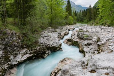 images of Triglav National Park - Soča River - Mala Korita
