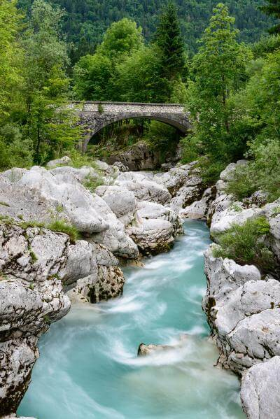 photos of Triglav National Park - Soča River - Mala Korita