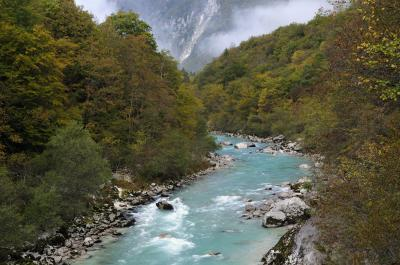 photography locations in Soča River Valley - Soča River Footbridge View