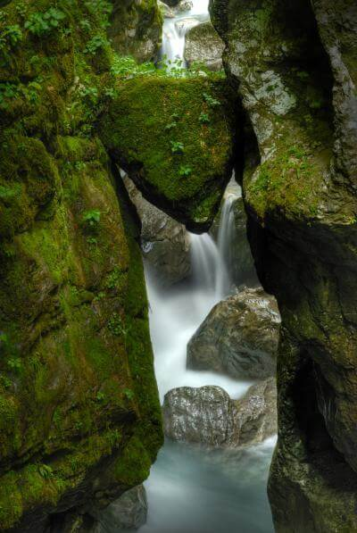 Triglav National Park photography spots - Tolminka Gorge