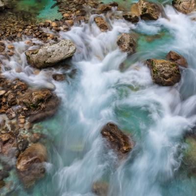 pictures of Triglav National Park - Tolminka Gorge