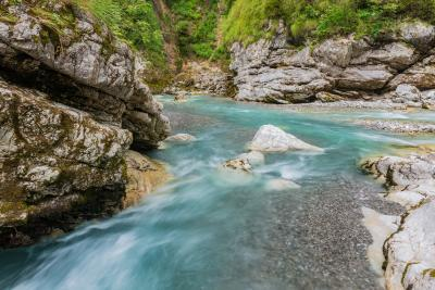 photos of Triglav National Park - Tolminka Gorge