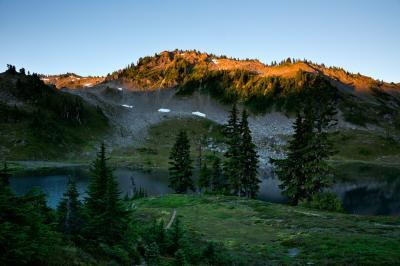 photo locations in Olympic National Park - Seven Lakes Basin