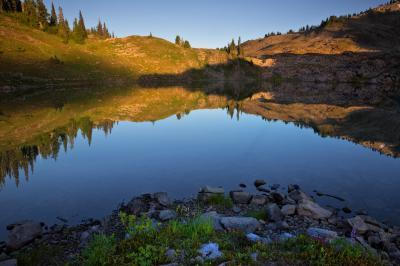 images of Olympic National Park - Seven Lakes Basin
