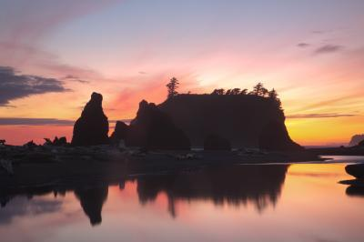 Olympic National Park photography spots - Ruby Beach