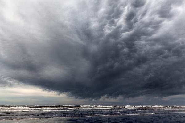 Storm Clouds Over Kalaloch Beach
