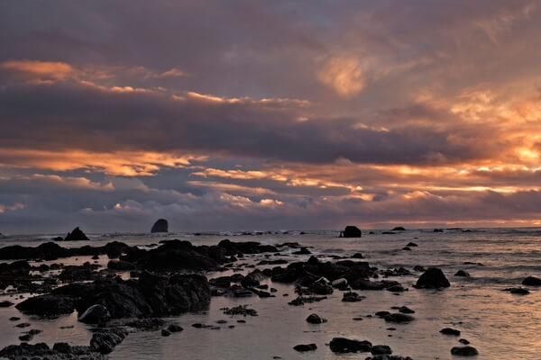 Sunset at Cape Alava