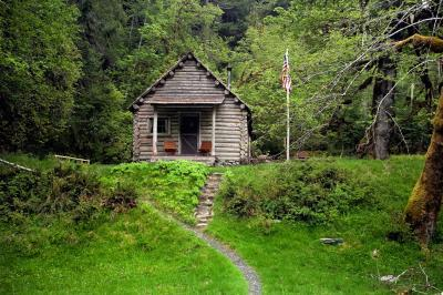 images of Olympic National Park - Elwha River Trail