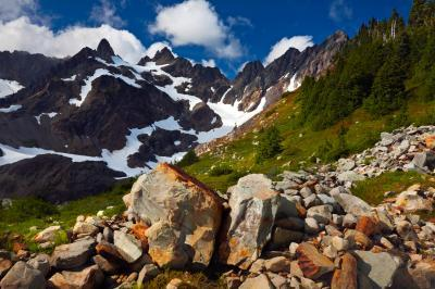 images of Olympic National Park - Hart Lake