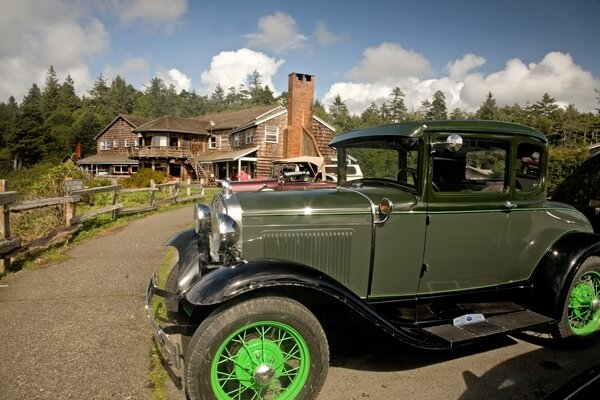 Old Cars at Kalaloch Lodge