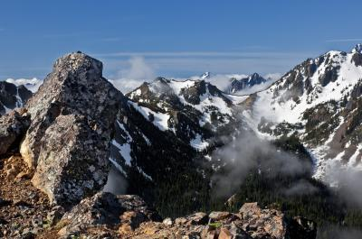 pictures of Olympic National Park - Mount Townsend