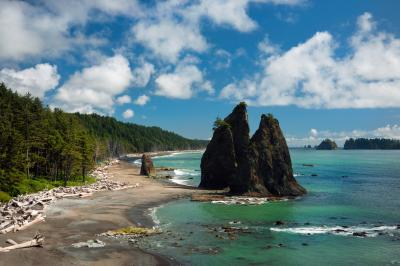 pictures of Olympic National Park - Rialto Beach