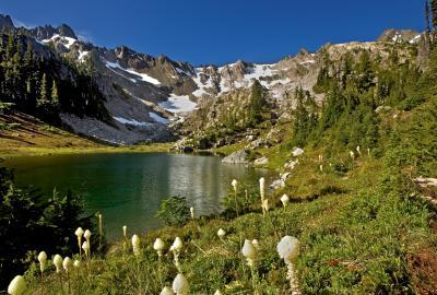 images of Olympic National Park - Lake of the Angels
