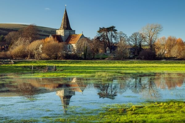 Alfriston village (South Downs NP)