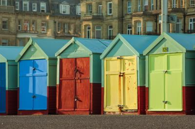 pictures of Brighton & South Downs - Beach huts in Hove