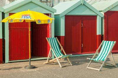 photos of Brighton & South Downs - Beach huts in Hove