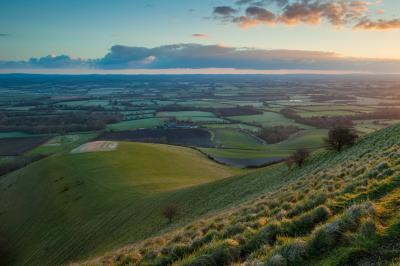 pictures of Brighton & South Downs - Firle Beacon (South Downs NP)