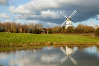 photo spots in Brighton - Waterhall Windmill in Patcham
