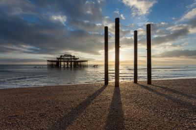 images of Brighton & South Downs - West Pier ruins