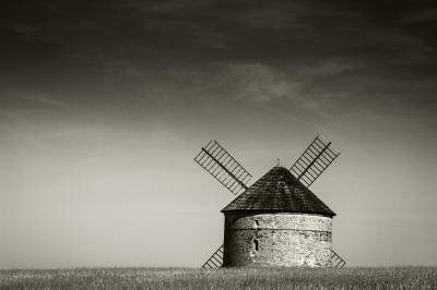 Southern Moravia photography locations - Chvalkovice windmill