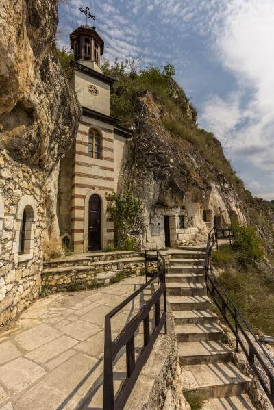 photos of Bulgaria - Basarbovski Rock Monastery