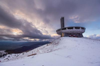 pictures of Bulgaria - Buzludzha monument