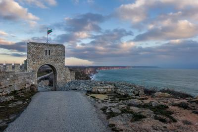 pictures of Bulgaria - Cape Kaliakra Fortress