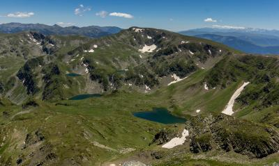 pictures of Bulgaria - Rila Mountains - Damga Peak