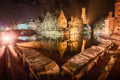 photography locations in Bruges - Rozenhoedkaai
