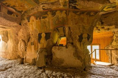 pictures of Bulgaria - Ivanovo Rock churches