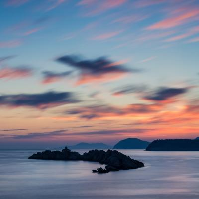 images of Dubrovnik - Mala Petka Sunset