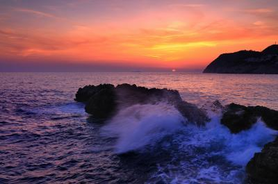 pictures of Dubrovnik - Danče Beach Sunset