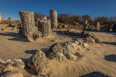 images of Bulgaria - Pobiti Kamani (The Stone forest)