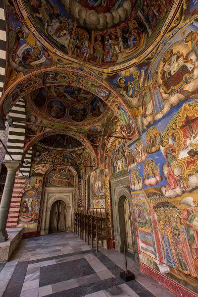 pictures of Bulgaria - Rila Monastery