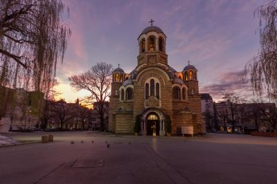 pictures of Bulgaria - Sofia - St.Sedmochislenitsi Church