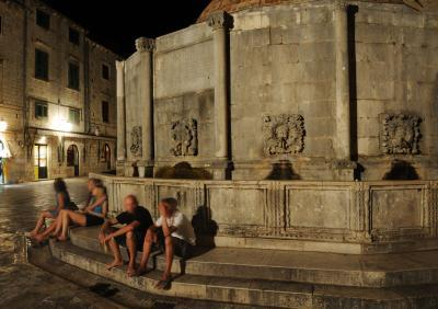 pictures of Dubrovnik - Great Onofrio Fountain